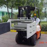 Չինաստանի հիդրավլիկ արդյունավետ Forklift բեռնատար հավելվածների բազմակողմանի սեղմիչ