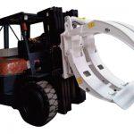 Forklift Attachments 360 պտտվող մեկ թև թղթե սեղմակներ