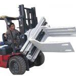 Bale Clamp Forklift Attachments Թափոնների թուղթ Bale մամլիչ
