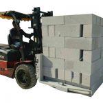 Հիդրավլիկ Forklift բետոնե աղյուսներ / բլոկային բարձրացնող մամլիչ