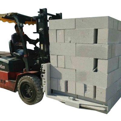 Հիդրավլիկ Forklift բետոնե աղյուսների բլոկի բարձրացման ճարմանդ