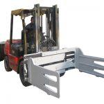 Fork Truck- ի պտտվող բեյլի սեղմակները Forklift- ով