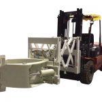 Forklift անվադողերի բեռնաթափման հավելվածի աստղադիտակի անվադողերի սեղմակներ