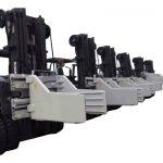 2.7 տոննա Forklift Bale խցանման հավելվածներ