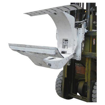 3 տոննա դիզելային Forklift բեռնատար, թղթե գլանաձև սեղմակների հավելվածով