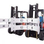 Forklift Parts Forklift Attachments Steel Rotator Paper Roll մամլիչ