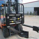 Հիդրավլիկ Forklift հավելվածներ Սինխրոն սեղմիչ պատառաքաղներ
